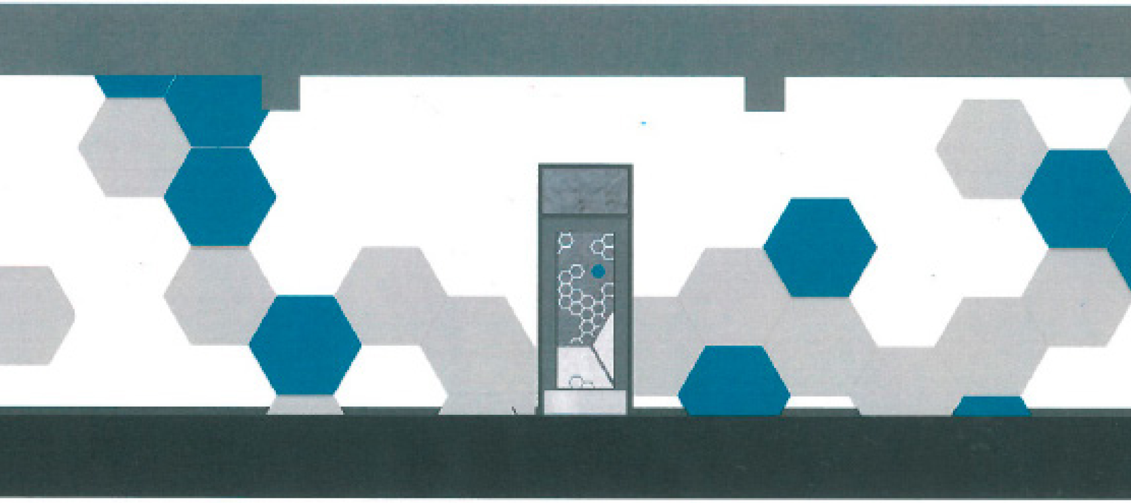 Mazama Gym East Wall design, submitted by Bill Douglass