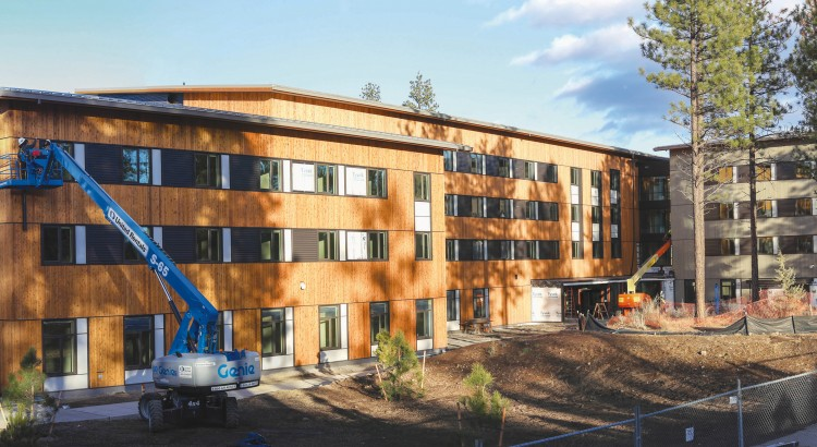 """OSU-Cascades residence hall will house up to 300 students this fall. Students will begin to move-in January 7th, 2017. Staff and faculty are """"extremely excited"""" to open the hall."""