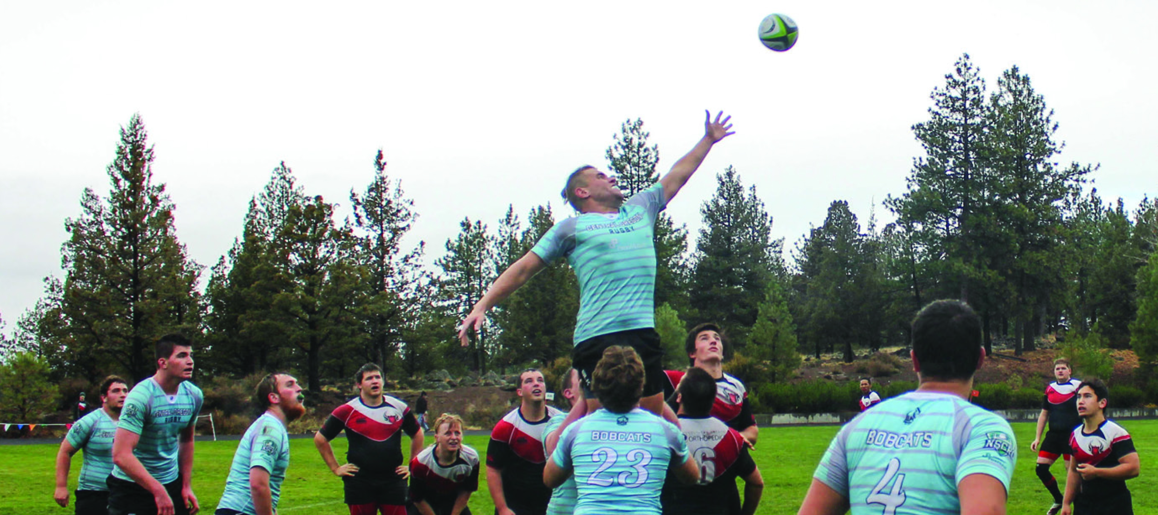 COCC Rugby Club vs. Southern Oregon Rugby Club, October 2016 (Photo By: Carl Swanson)
