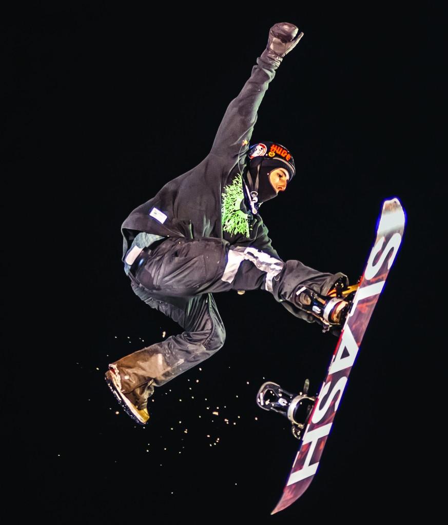Winterfest Snowboarder Photo by Stephen Badger The Broadside