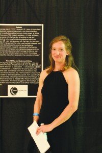 COCC aviation student Ashley Miller was awarded $3,200 of scholarship money in  2012-2013.