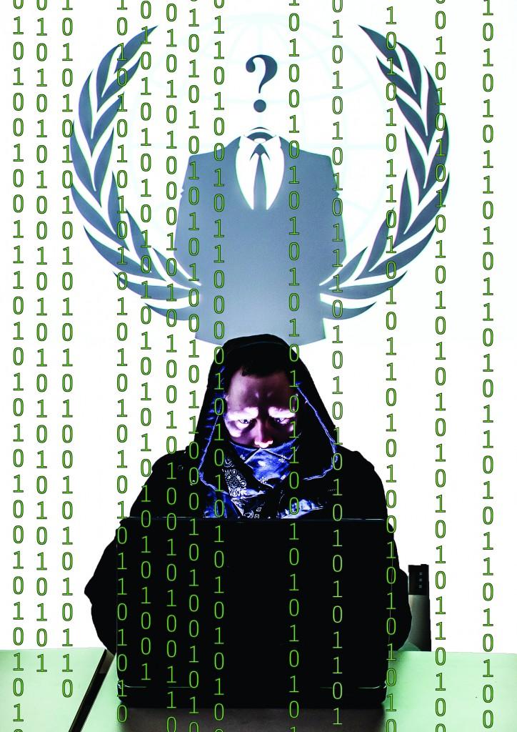 Hacktivist PhotoIlustration by Stephen Badger and Jarred Graham The Broadside