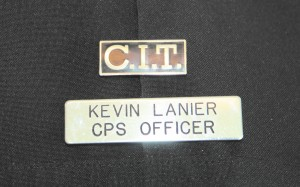 Crisis intervention campus safety officer