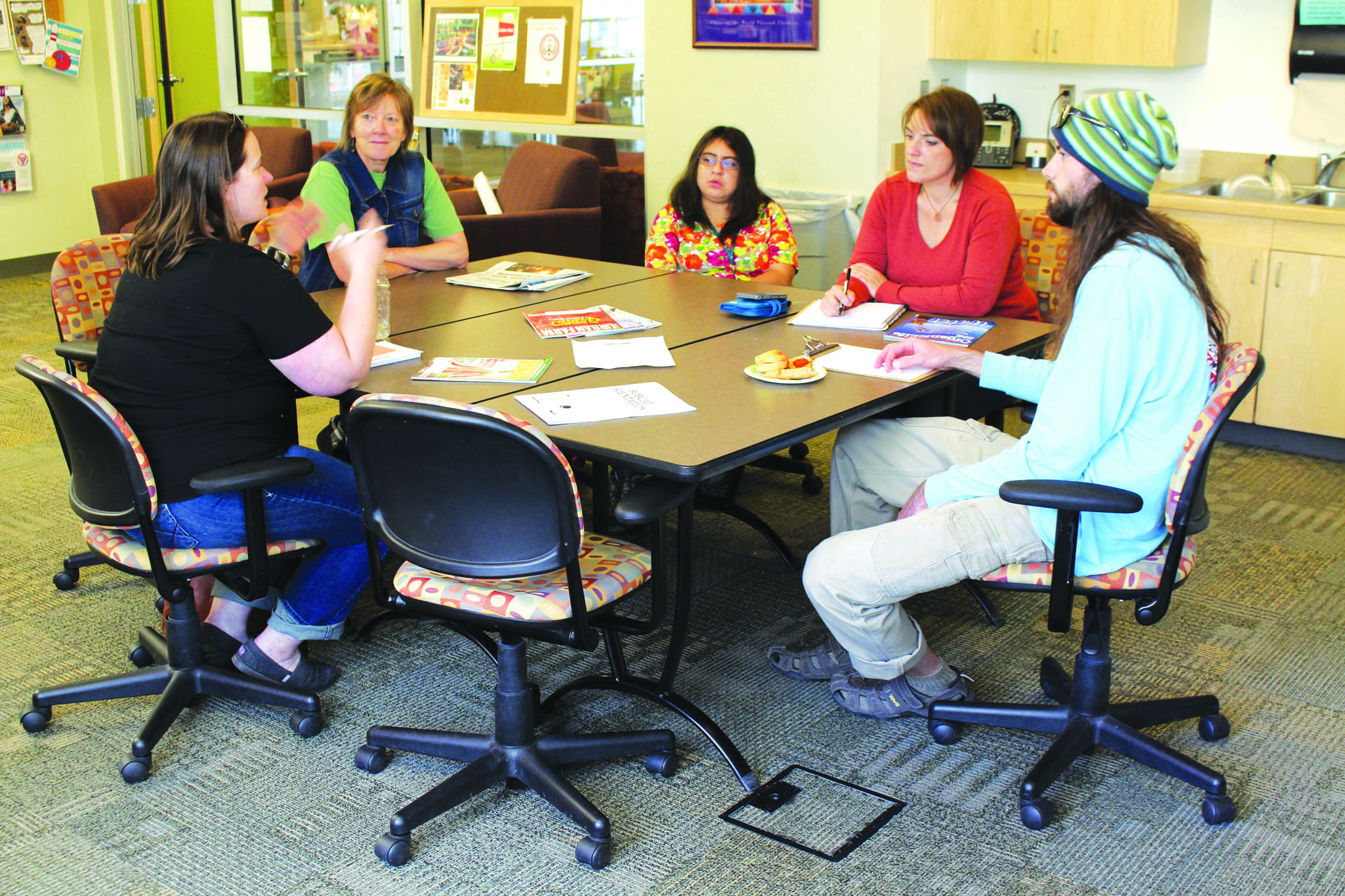 On Friday, OCt. 2, the COCC Garden Club members meet to discuss the upcoming year, their hopes to attract more students and the ways in which they are going to impact the community.
